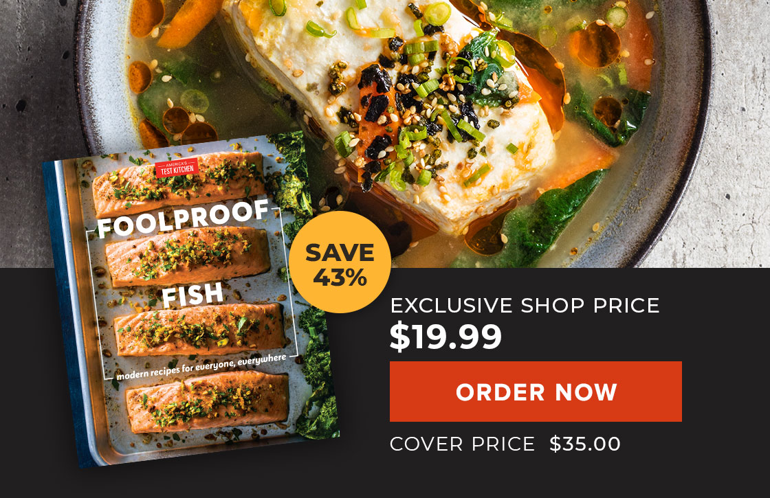 Keep Calm and Cook Sale: Foolproof Fish. Save 43%. Your Price: $19.99. Cover Price: $35.00. Order Now.