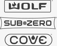 Wolf, Sub-Zero, and Cove